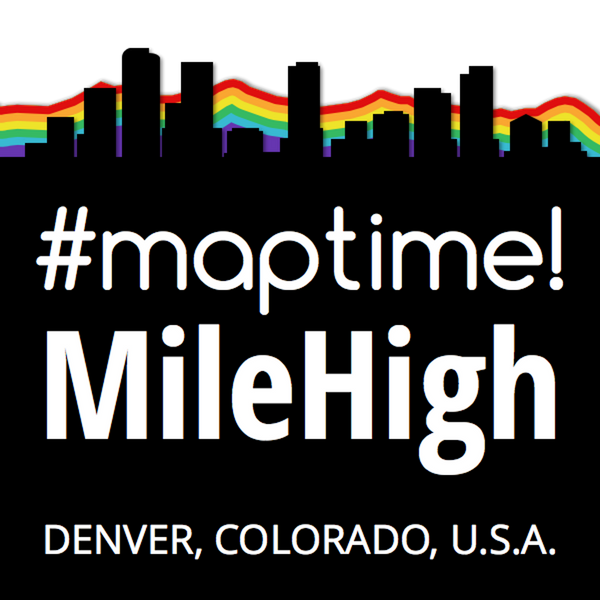 Maptime Mile High Logo
