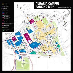 Auraria Campus Parking Map