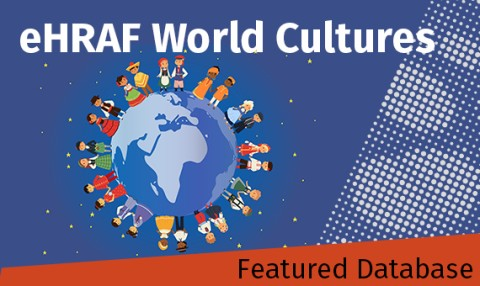 Photo of Featured Database - eHRAF World Cultures - people holding hands around the world