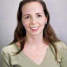 Photo of Kelly McCusker, Scholarly Communication and Collection Development Program Lead