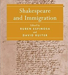 "Book cover for ""Shakespeare and Immigration"""